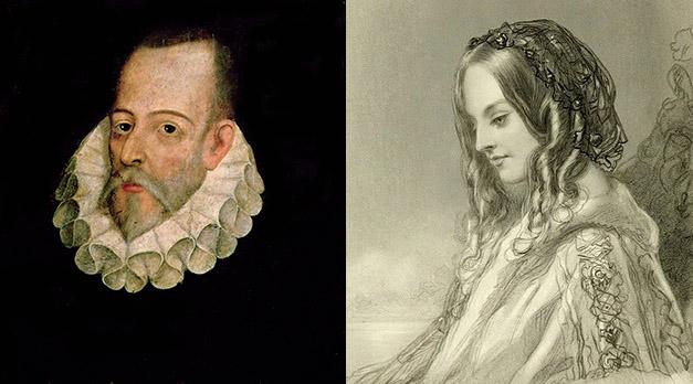 Resultado de imagen para Foto de Miguel de Cervantes se casa con Catalina de Palacios.