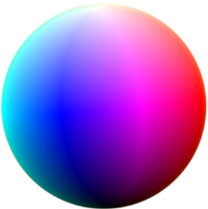 Colours of the Sphere - Interactive 3D simulation of the colour sphere, University of Portsmouth.