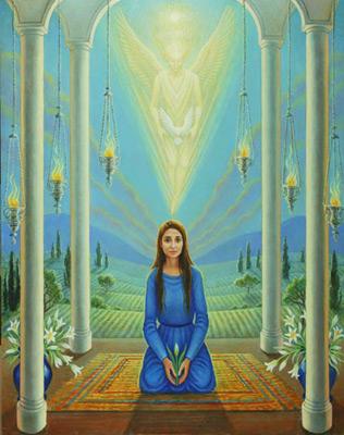 Marlin Brigid - The Annunciation, 2005