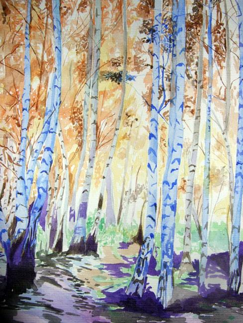 Melanie Chan - 'The Woods', 2008.