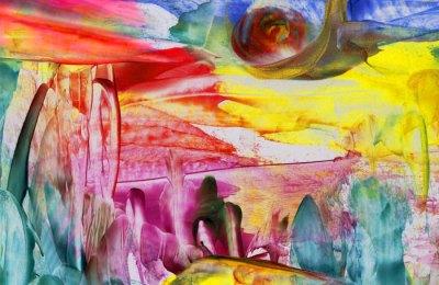 The Forest of Love (detail) - Natalie Dekel, July 2010