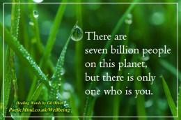 Unique People... (Healing Words by Gil Dekel)