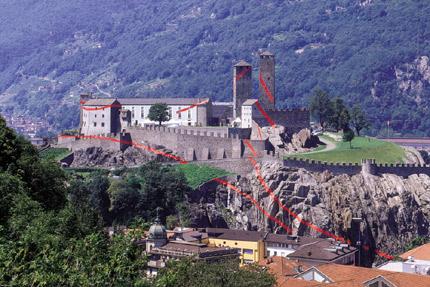 2001-Segni-(Bellinzona-Switzerland)-OffVantagePoint-Felice-Varini