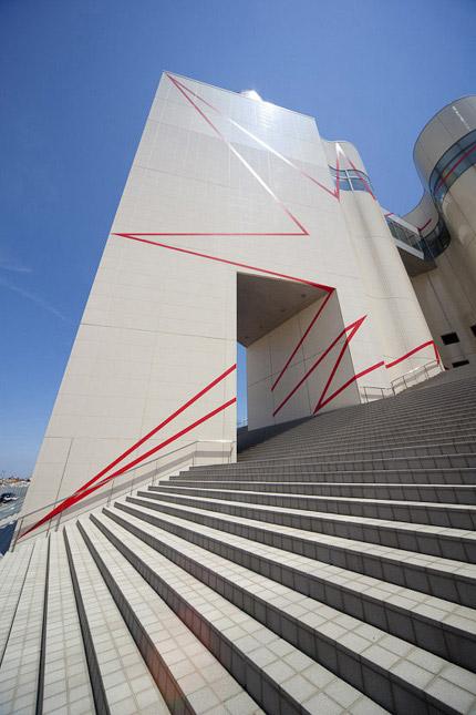 2009-Zigzag-entre-le-cercle-at-la-tour-(Niigata-Japan)-OffVantagePoint-Felice-Varini