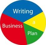 Writing a Busienss Plan Pie Logo