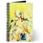 Angel Yofiel - Encaustic Wax Art - journal