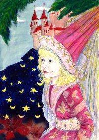Princess in Rapunzel style - by Natalie Dekel, 2008.