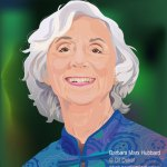 Portrait of Barbara Marx Hubbard