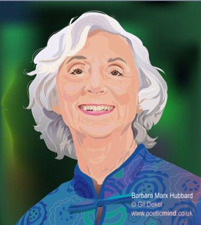 Portrait of Barbara Marx Hubbard