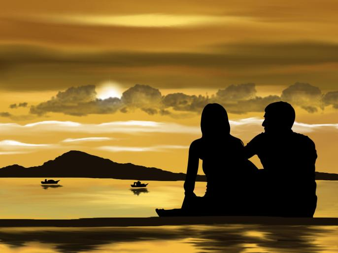 digital-art-couple-sunset