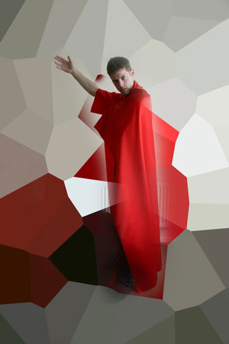 'Prince of Hampshire' - inspiration, creativity, quantum physics, words. Part of PhD research by Gil Dekel. Promo photo.