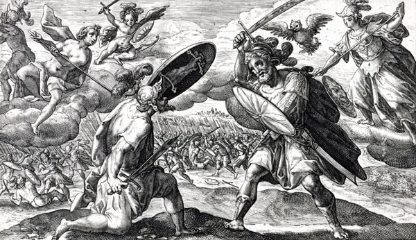 Homer  c 750 BC   The Iliad Book V The combat between Aeneas and Diomedes