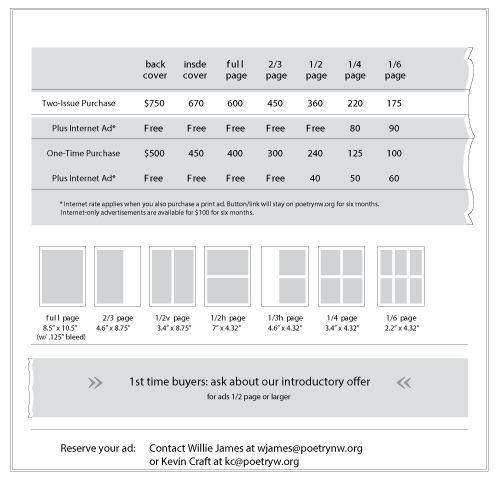 Ad rates