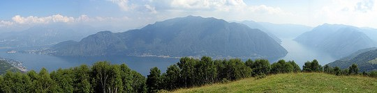 Lakes Como and Lecco