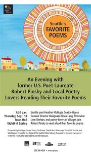 Seattles favorite poem poster