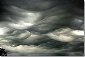 dark gloomy clouds