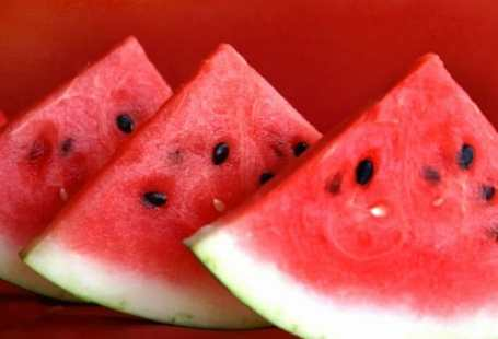 Cold watermelon on a sunny afternoon - Cold watermelon on a sunny afternoon