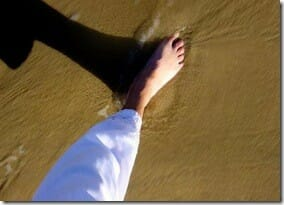 feet firmly on the ground - Down to earth!