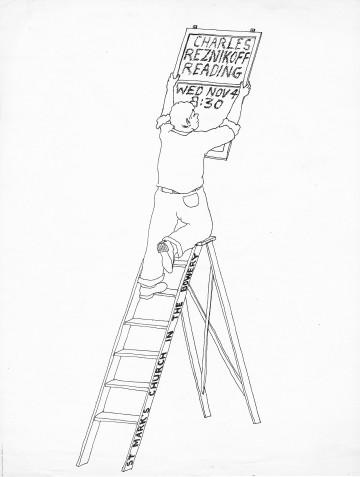 1970 flyer by George Schneeman. Courtesy Miles Champion