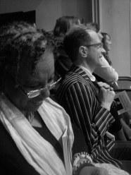 Patricia Spears Jones, Wayne Koestenbaum (c) Greg Fuchs, 2011