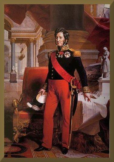 1830 Potraite of-Louis-Philippe_de_Bourbon