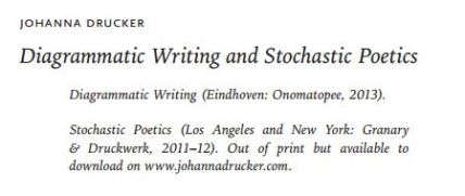 Diagrammatic Writing