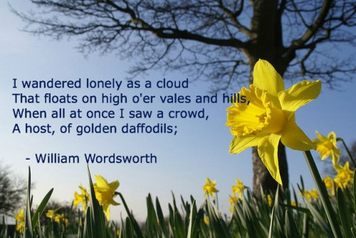 Image result for wordsworth daffodils