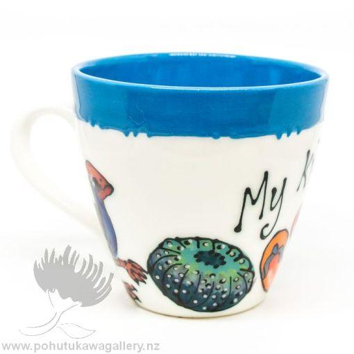 my kiwi mug new zealand coffee cup