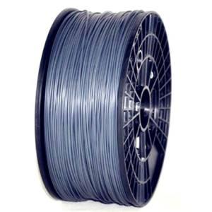 PLA 1.75mm 1KG 3D printer consumables silver HIGH QUALITY GARANTITA SU MAKERBOT, MULTIMAKER, ULTIMAKER, REPRAP, PRUSA