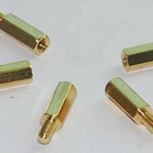 Pilastri a vite esagonale filettati in ottone da 10 Pezzi 12MM + 6 M3