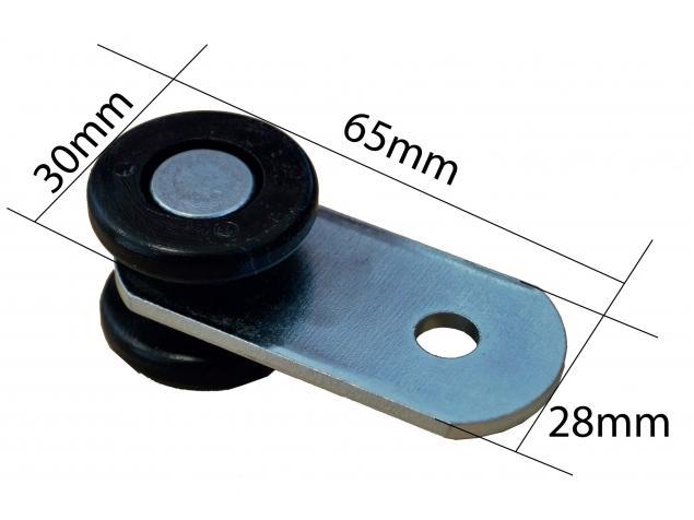 Roulette Rail 30 X 35 Longueur 61mm