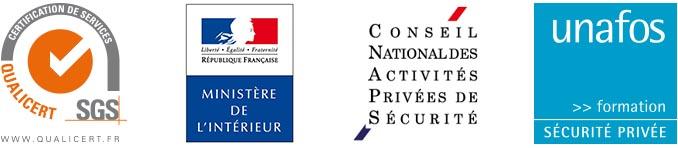 certifications Point Bleu Formation, Formation professionnelle en Sécurité Privée