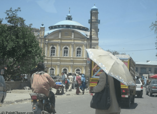 Shah-Do Shamshira Mosque in Kabul