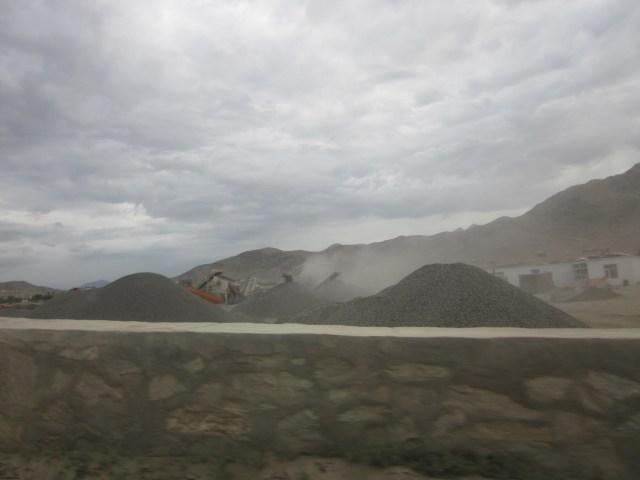 Environmental degradation in Arghandeh