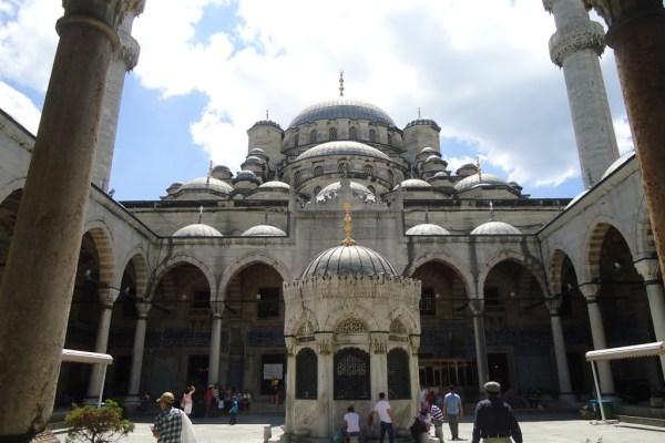 Eminonu New Mosque Istanbul