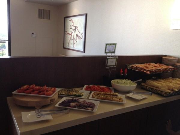 Hyatt Regency Maui Club Lounge Appetizer Spread