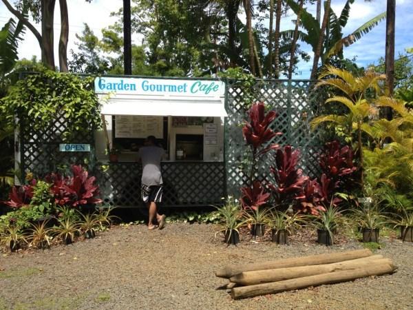 Garden Gourmet Cafe Hana Maui