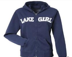 Weirdest Skymall Products - Lake Girl Zip Hoodies