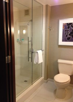 Hyatt Regency Sacramento Renovated Bathroom