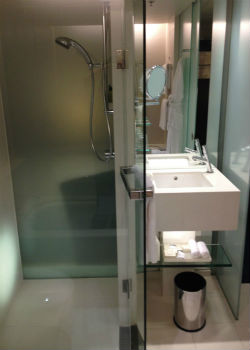 Hilton Sydney Executive bathroom 2