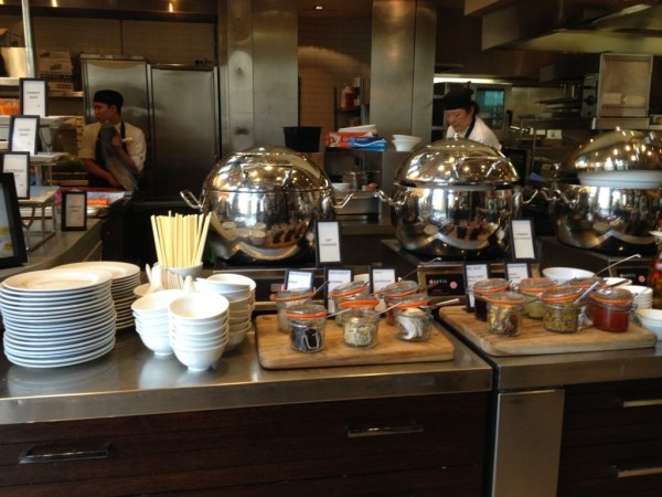 Hilton Sydney Glass Basserie Breakfast Buffet Asian