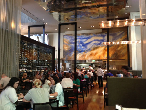 Breakfast at Glass Brasserie, Hilton Sydney - one of the many perks reserved for elites