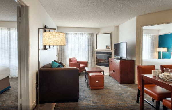 Residence Inn San Diego Sorrento Mesa - 2 Bedroom Source: Hotel website