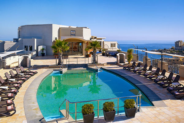 Le Meridien St. Julians Hotel & Spa - One of the Best Category 4 Starwood Hotels