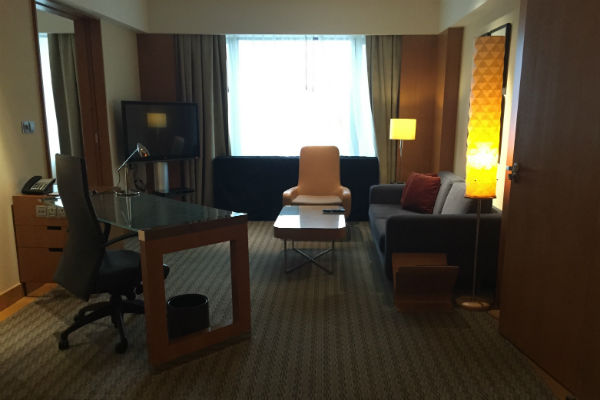 Living Room of the Grand Deluxe Room
