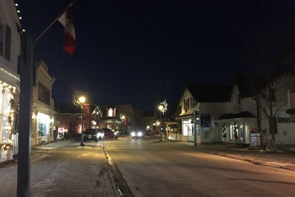 Gilmore Girls Main Street Unionville Ontario AKA Stars Hollow