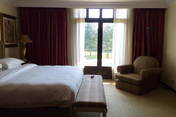 Hyatt Regency Thessaloniki Executive Suite Master Bedroom