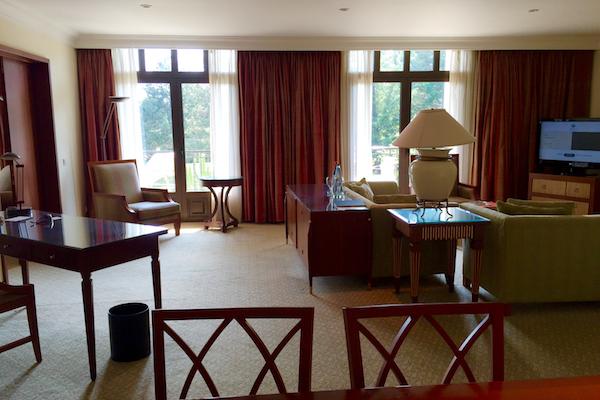 Executive Suite Living Room Hyatt Regency Thessaloniki