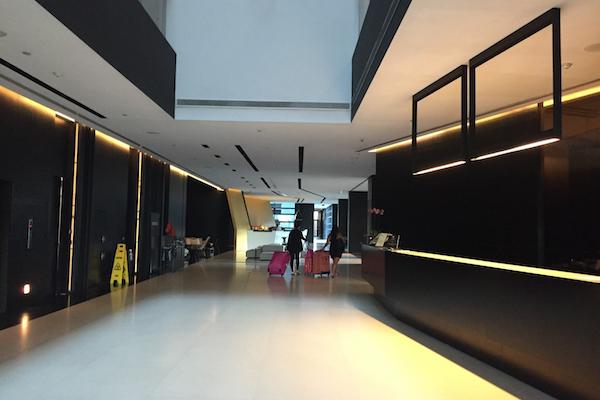Lobby of the Met Hotel Thessaloniki