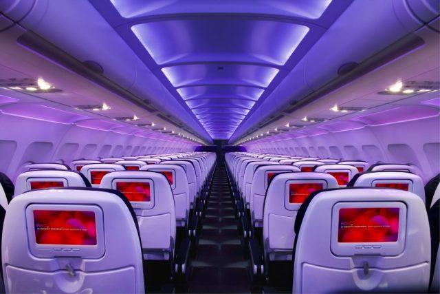 Virgin America Main Cabin Economy Class
